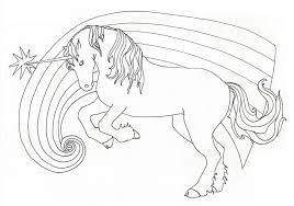 Flying Unicorn Coloring Pages Unique Realistic Design Free Umcubed