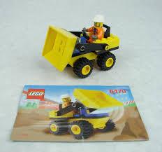 100 Lego Dump Truck LEGOSystemTown 6470 Mini Complete Wminifigure EBay
