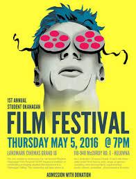 Student Okanagan Film Festival Poster