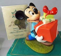 Plutos Christmas Tree Ornament by Wdcc Disney Classics Plutos Christmas Tree Pluto Helps Decorate