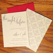 Wedding Rehearsal Dinner Invitations Rustic Invites Casual The Night Before Big Day