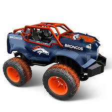 100 Monster Trucks Denver Officially Licensed NFL RC Truck Hammacher Schlemmer