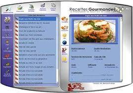 logiciel recette cuisine télécharger recettes gourmandes pour windows shareware