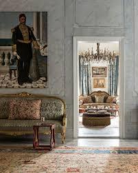 sofa und orientalisches gemälde an bild kaufen