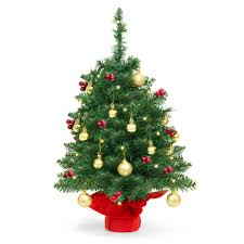 Best Choice Products 22in Pre Lit Tabletop Artificial Christmas Tree W UL Certifed