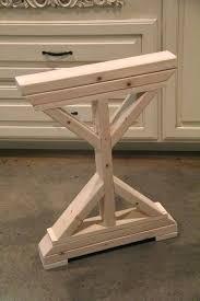 Ikea Desk Legs Uk by Desk Repurposed Pallet Wood Desk Tiered With Metal Legs By