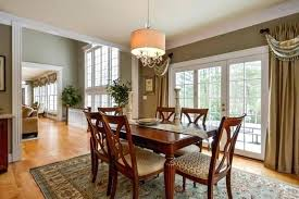 Informal Dining Room Transitional Traditional Large Casual Tables