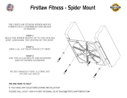Punching Bag Ceiling Mount by Spider Mount Heavy Bag Hanger Firstlaw Fitness