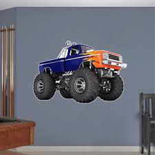 100 Ford Monster Truck Wall Decal Vinyl Bigfoot Graphic Sticker