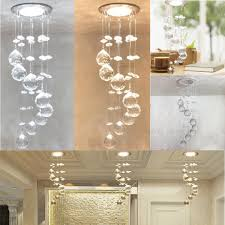 3W LED Crystal Concealed Ceiling Light Small Chandelier Lamp