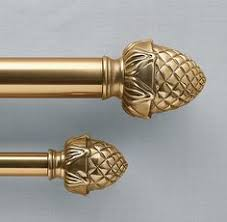 might work with the peacock theme plume curtain rod and finial