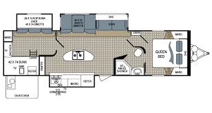 Montana 5th Wheel Floor Plans 2015 by Shop Rvs By Floor Plan Options Veurinks U0027 Rv Bunk House Rear