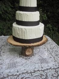 The 25 Best Wood Wedding Cakes Ideas On Pinterest