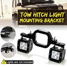 100 Hitches For Trucks Universal Car Tow Hitch Light Mounting Bracket Dual LED Backup