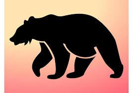 California Bear Outline Free Vector Art 491 Downloads Dinosaur Clipart