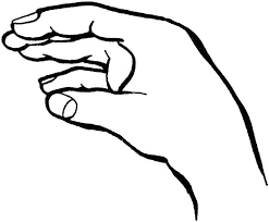 Full Image For Coloring Pages Of Talking Hands A Human Body Parts The