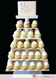 Wedding Cakes Stand Filigree Cupcake Cake Hire