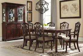 Outstanding Ashley Furniture Formal Dining Room Sets Pretty Tables ... Hillsdale Fniture Monaco 5piece Matte Espresso Ding Set Glass Round Table And 4 Chairs Modern Wicker Chair 5 Pcs Gia Ebony 1stopbedrooms Room Elegant Nook Traditional Sets Cheap Kitchen Elegant Home Design Round Glass Ding Room Table And Chairs Signforlifeden Within Neoteric Design Inspiration Tables Mhwatson For Small