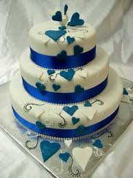 wedding cakes royal blue and white Download by size Smartphone Medium Size Full Size