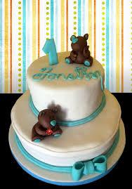 teddy torte zum 1 geburtstag kuchenkrümel