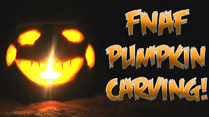 Funny Pumpkin Carvings Youtube by Five Nights At Freddy U0027s Pumpkin Carving Nightmare Puppet Youtube