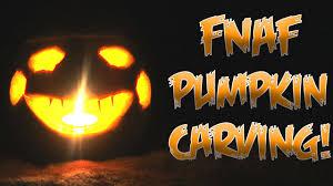Minecraft Pumpkin Design by Five Nights At Freddy U0027s Pumpkin Carving Nightmare Puppet Youtube