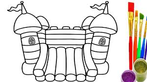 How To Draw Playground For Childrens Coloring Pages