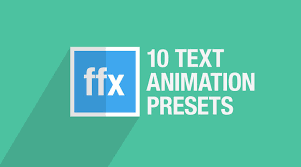 Text Effects After Effect Tutorial Motion Design Graphics We Want To Help You Save Time And Make Better Projects So