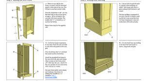 27 bookcase plans free pdf rustic bookcase plans pdf