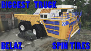 100 Biggest Truck Ever Spin Tires YouTube