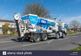 100 Concrete Truck Delivery EKA Delivery Truck Made By Volvo In The UK Stock Photo