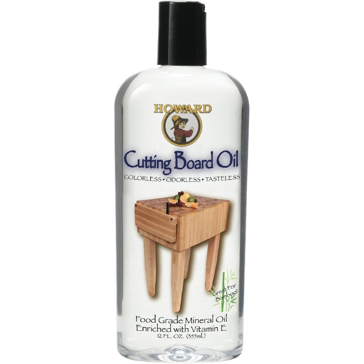 Howard Butcher Block and Cutting Board Oil - 12oz