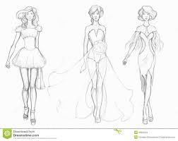 Sketch Designer Clothes Fashion