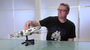 Lego X Wing Stand by Red Five X Wing Starfighter Lego Star Wars Designer Video