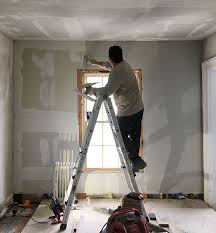 Skim Coat Ceiling Vs Plaster Ceiling by How To Skim Coat Walls With The Best Of Them Manhattan Nest