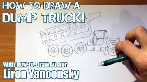 How To Draw A Dump Truck - Part 1: Drawing - YouTube How To Draw Dump Truck Coloring Pages Kids Learn Colors For With To A Art For Hub Trucks Boys Make A Cake Hand Illustration Royalty Free Cliparts Vectors Printable Haulware Operations Drawing Download Clip And Color Page Online