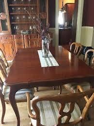 John Widdicomb Dining Room Set With China Cabinet