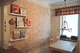 create original and beautiful cork wall tiles creative home
