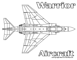 Download Coloring Pages Jet Ferocious Fighter Planes Free Gallery