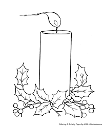 Christmas Scenes Coloring Pages 4