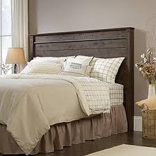 Sears Headboards And Footboards Queen by Sauder Carson Forge Coffee Oak Full Queen Headboard 419887 The