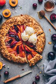 fruchtige obst galette