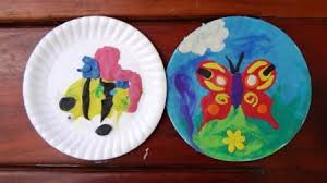 Clay Butterfly A Craft Idea With Paper Plates