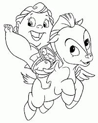 Download Cartoon Coloring Pages Baby Pegasus And Hercules Or Print
