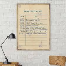 Das Poster Gemeinsame Zeit Ist Auf Seidenmattem Papier Gedruckt Und