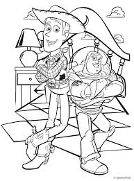 COLOR ME PAGES Toy Story Design Free Printable Coloring