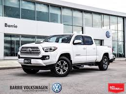 100 Auto Truck Trader Used 2017 Toyota Tacoma For Sale At Barrie Volkswagen VIN