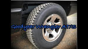 Goodyear Wrangler AT/S - YouTube