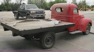 100 1946 International Truck K3214 Flatbed Truck Item A6162 SOLD