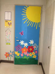 fabulous spring classroom door decorations with fine spring